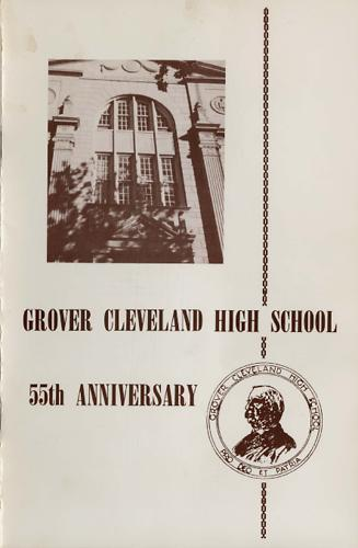 Grover Cleveland High School 55th Anniversary Program